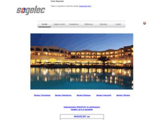 sogelec.net screenshot