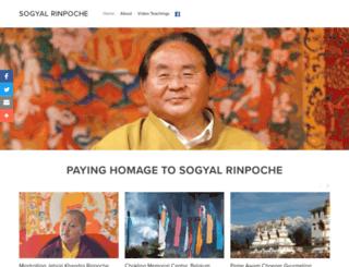 sogyalrinpoche.org screenshot