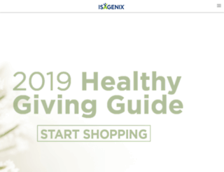 soho.isagenix.com screenshot