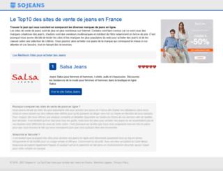 sojeans.fr screenshot