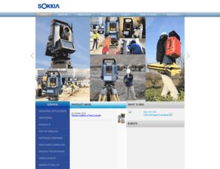 sokkia.com.sg screenshot