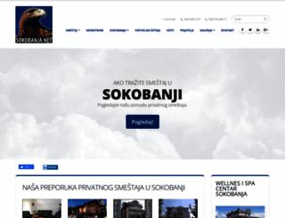 sokobanja.net screenshot