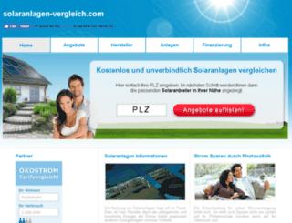 solaranlagen-vergleich.com screenshot