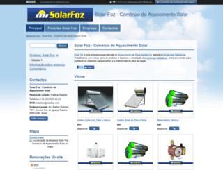 solarfoz.negociol.com screenshot