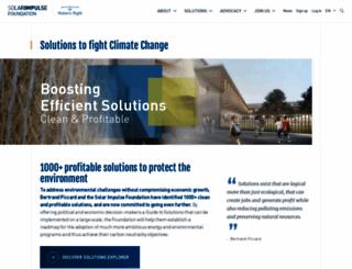 solarimpulse.com screenshot