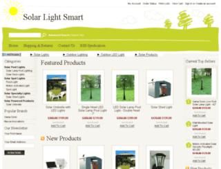 solarlightsmart.com screenshot