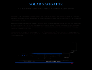 solarnavigator.net screenshot