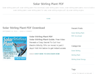 solarstirlingplantpdf.wordpress.com screenshot