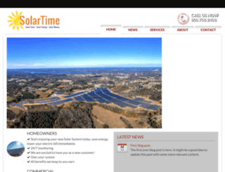 solartimecorp.com screenshot