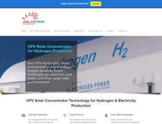 solartronenergy.com screenshot