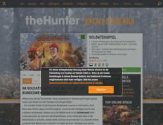soldatenspiel.browsergames.de screenshot