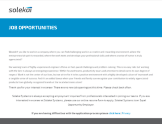 solekai.submit4jobs.com screenshot