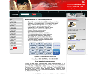 solenoidvalvesuk.co screenshot