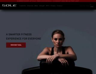 soletreadmills.com screenshot