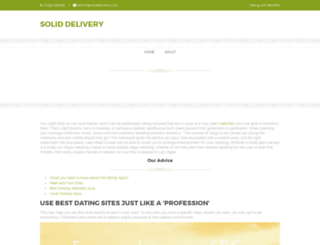 soliddelivery.co.uk screenshot