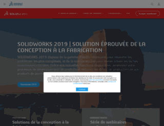 solidworks.fr screenshot