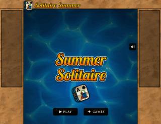 solitairesummer.com screenshot