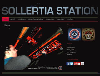 sollertiastation.org screenshot