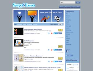 solo5euro.it screenshot
