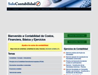 solocontabilidad.com screenshot