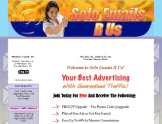 soloemailsrus.aff-sites.com screenshot
