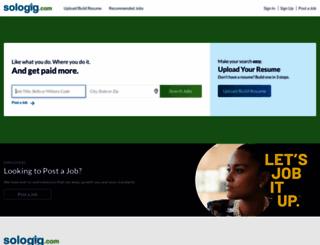 sologig.com screenshot