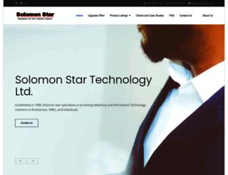 solomonstar.com screenshot