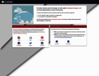 soloquieroviajes.com screenshot