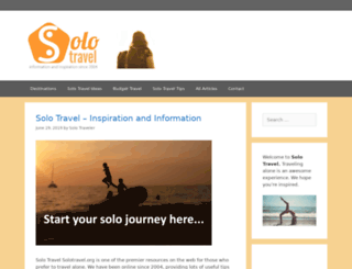 solotravel.org screenshot