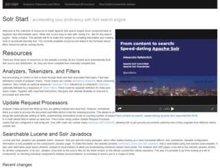solr-start.com screenshot