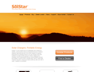solstarenergy.com screenshot