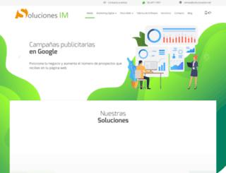 solucionesim.net screenshot