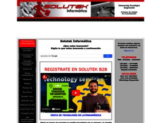 solutekcolombia.com screenshot