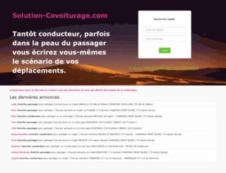solution-covoiturage.com screenshot