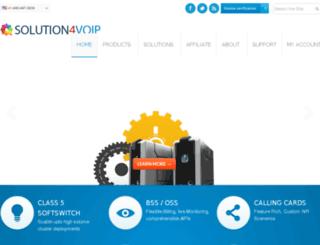solution4voip.com screenshot