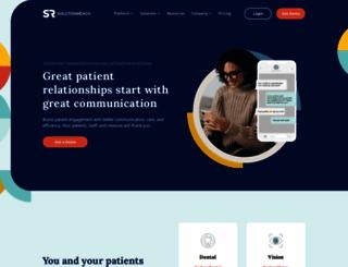 solutionreach.com screenshot