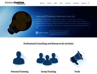 solutions-institute.org screenshot