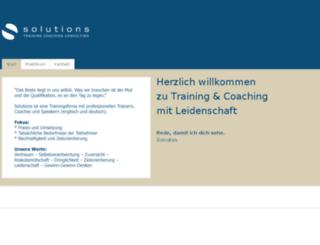 solutions-training.com screenshot