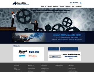 solutrix.com screenshot