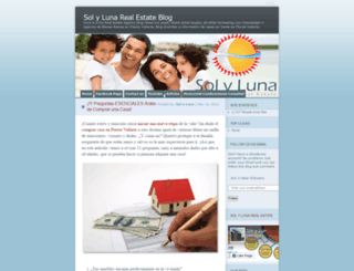 solylunarealestate.wordpress.com screenshot