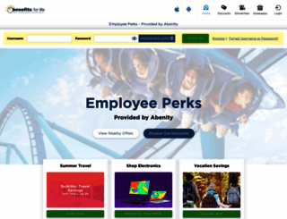 som.abenity.com screenshot