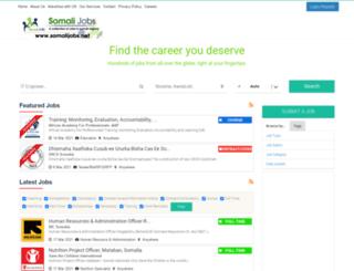 somalilandjobs.net screenshot