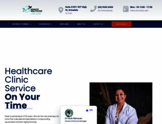 somatichealthcare.com.au screenshot