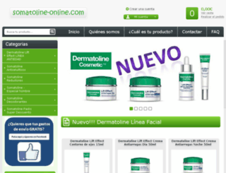 somatoline-online.com screenshot