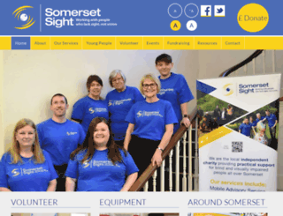 somersetsight.org.uk screenshot