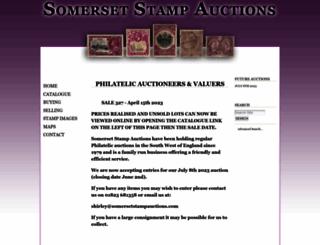 somersetstampauctions.com screenshot