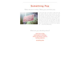 somethingpop.com screenshot