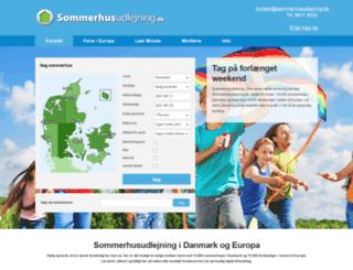 sommerhusudlejning.dk screenshot