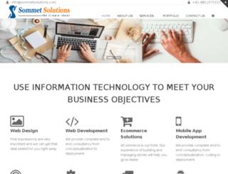 sommetsolutions.com screenshot