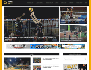 somosvoley.com screenshot